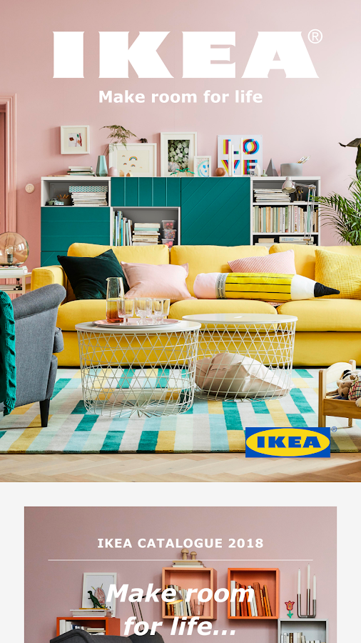 IKEA Catalogus: screenshot
