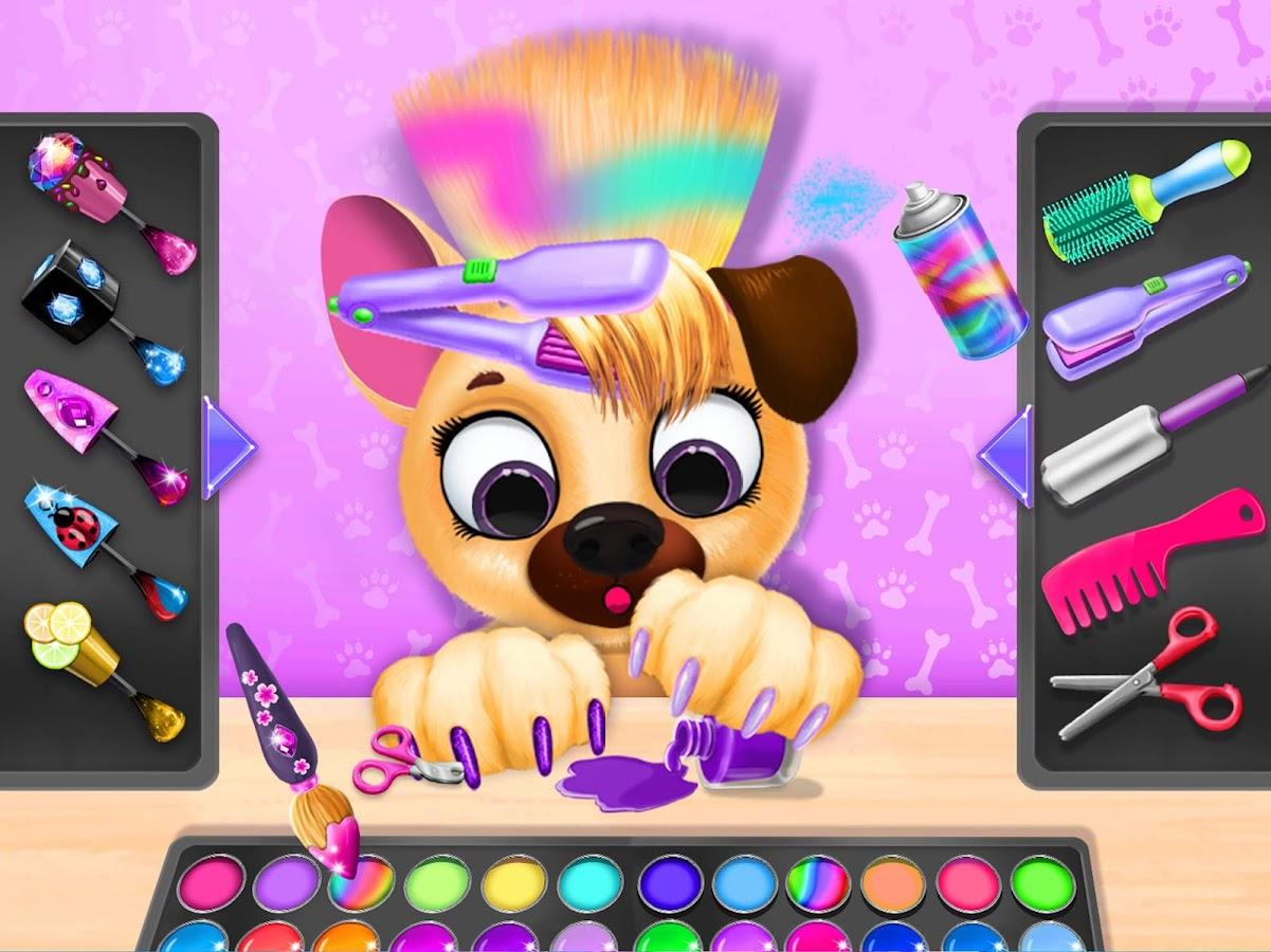 Kiki Amp Fifi Pet Beauty Salon Haircut Amp Makeup Android