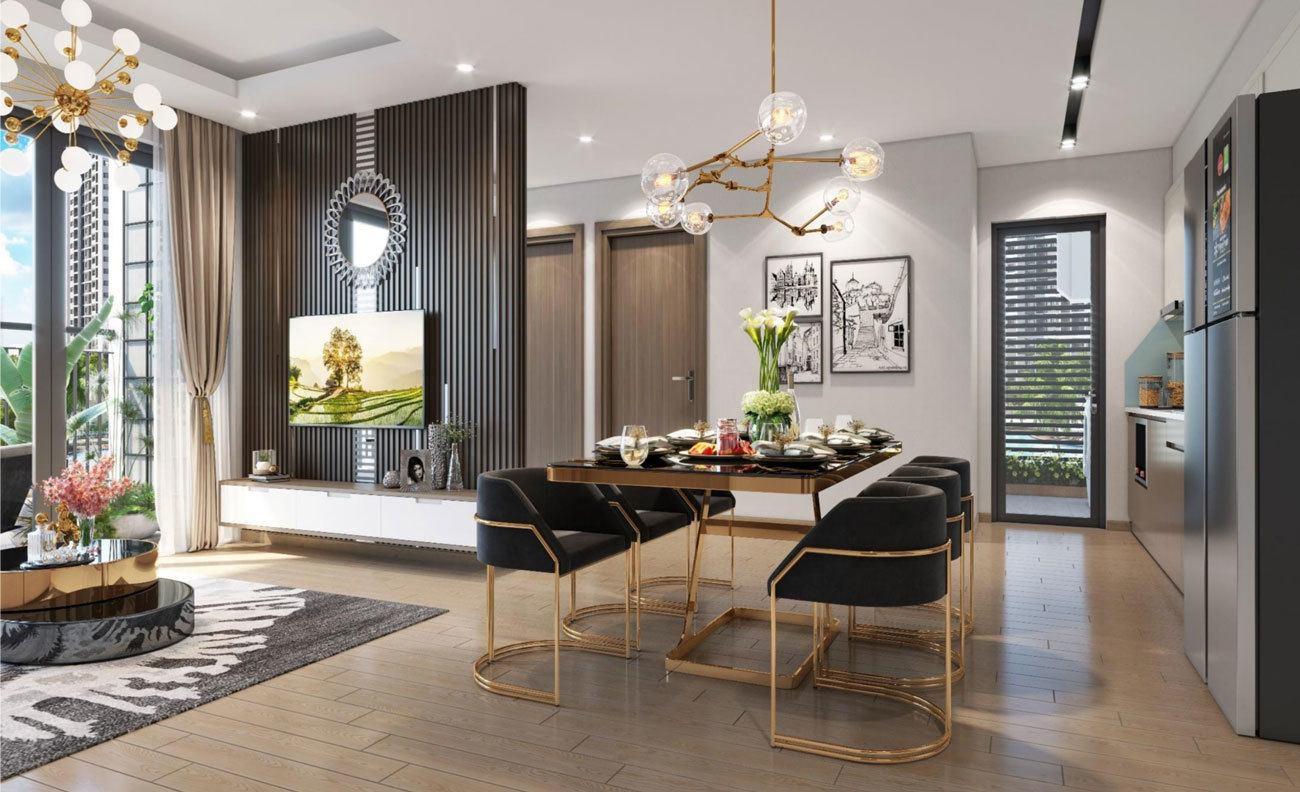 Tiêu chuẩn hoàn thiện của căn hộ mẫu Vinhomes Ocean Park