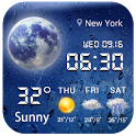 weather notification bar icon