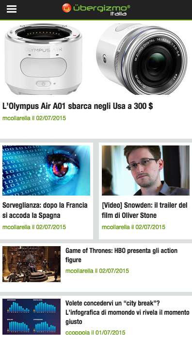 Geek News - Ubergizmo.it- screenshot