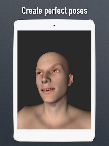 Face Model - 3D virtual human head pose tool 1 02 APK by Code