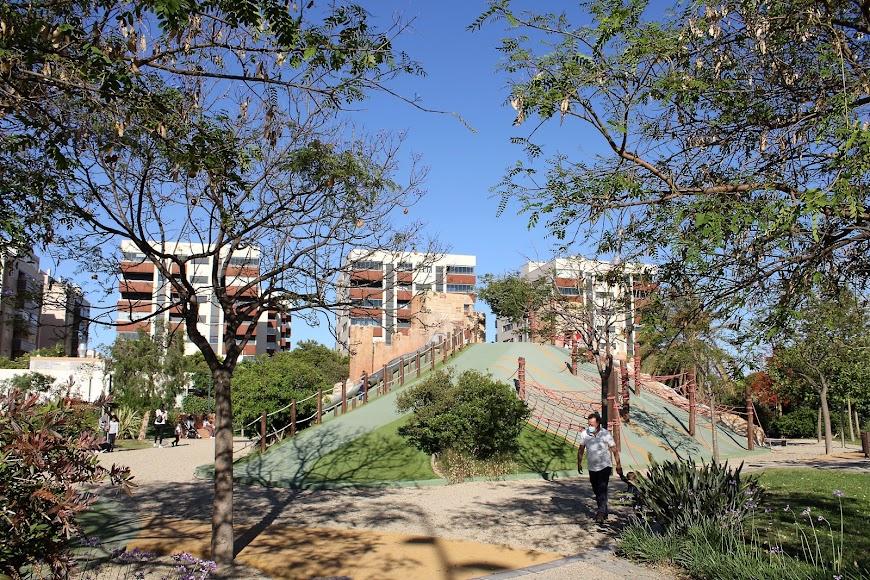 Zona infantil del Parque de las Familias.