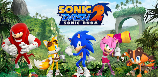 Sonic Dash 2: Sonic Boom Mod Apk 3.0.0 (Unlimited Red Rings) 6