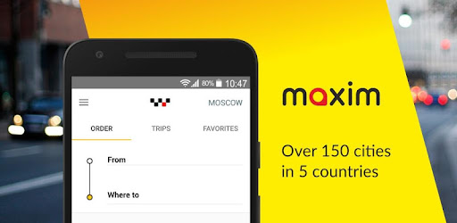 maxim: order a taxi app (apk) free download for Android/PC/Windows screenshot