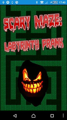 Scary Maze: Labyrinth Prank