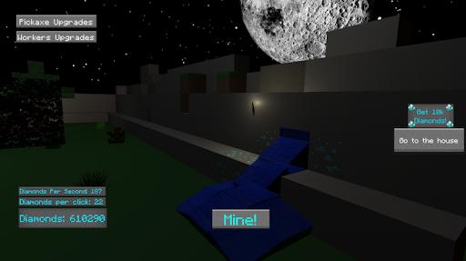 IdleCraft - mine diamonds and build a house! android2mod screenshots 5