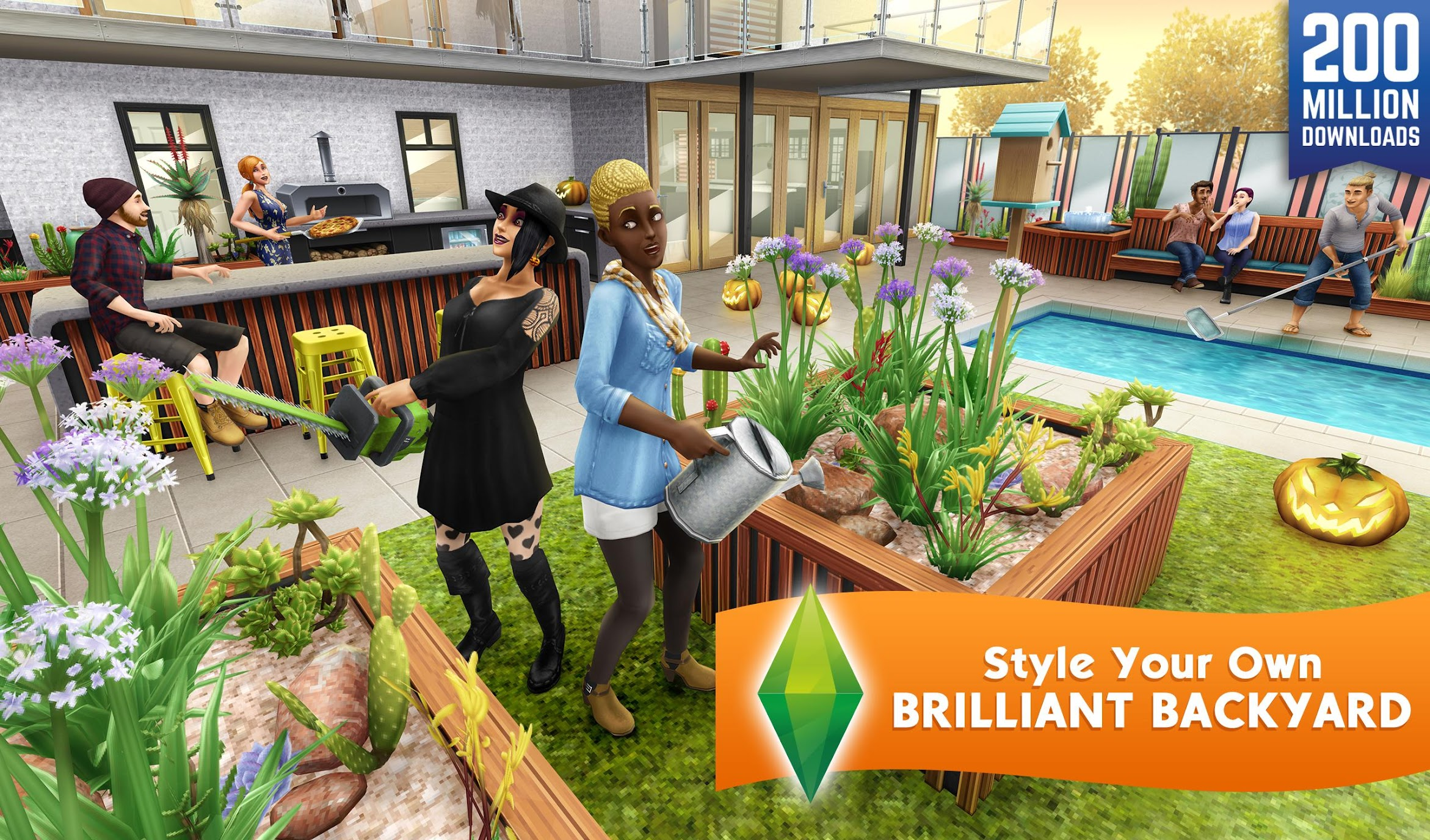 The Sims Freeplay Mod Apk (Unlimited Money) 1