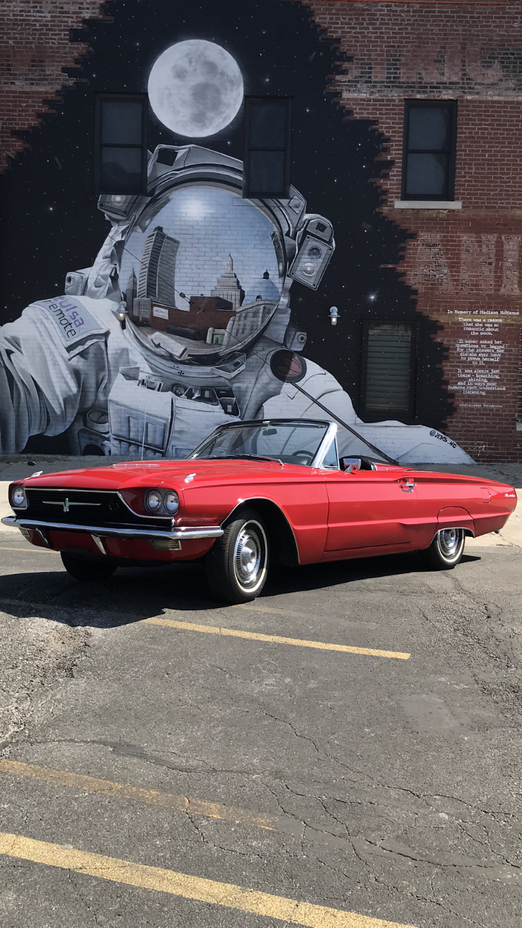 Ford Thunderbird Hire Owasso