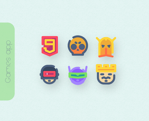 Screenshot for CHIKI Icon Pack in United States Play Store