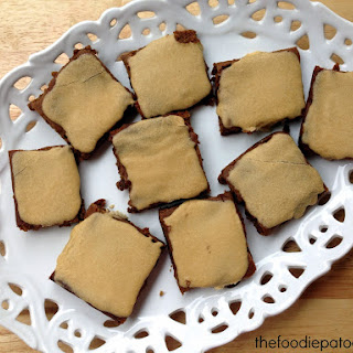 National Molasses Bar Day | Molasses Brownie Bars with Sweet Frosting