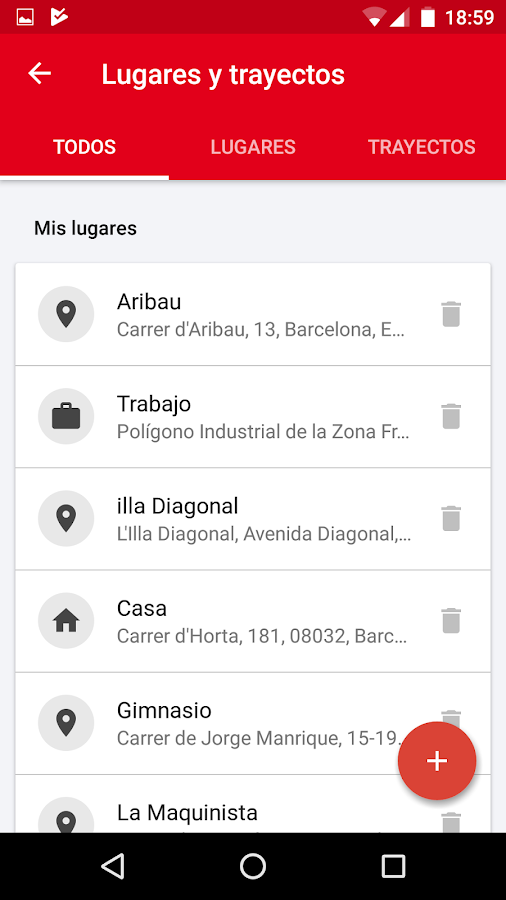TMBAPP (Metro Bus Barcelona)- screenshot