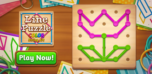 Move the dots to make hundreds of shape and patterns with fun!
