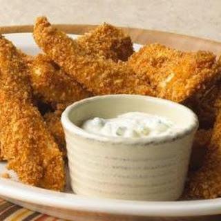 Crispy Crunchy Chicken Fingers.
