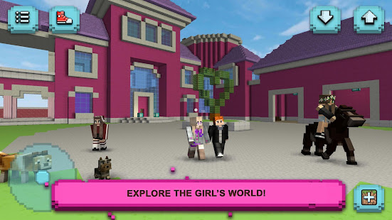 Girls World Exploration Crafting Building Lite Google Play