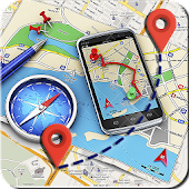 GPS Route Finder: Compass & Map Navigation