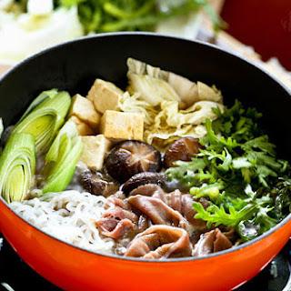 Sukiyaki (Japanese Beef Hot Pot).