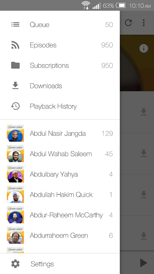 Multi Speaker Islamic Audio- screenshot
