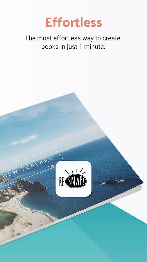 ReSnap - Photo Books, Easily Made In 1 Minute- screenshot