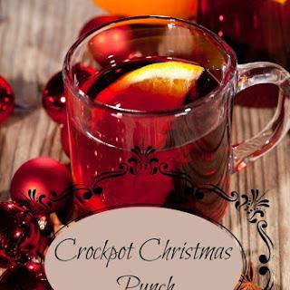 Crockpot Christmas Punch