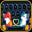 Cute Cat Love Keyboard Theme icon