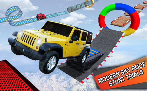Impossible Jeep Stunt Driving: Impossible Tracks  screenshots 1