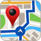 Free-GPS, Maps, Navigation, Directions and Traffic Icon