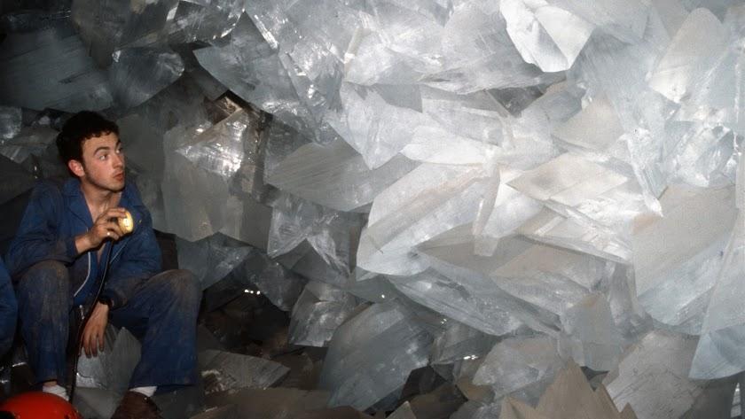 Efren Cuesta, el descubridor de la Geoda de Pulpí.