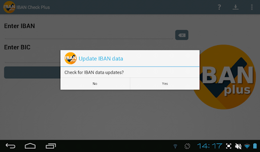IBAN Check Plus IBAN and BIC validation- screenshot thumbnail