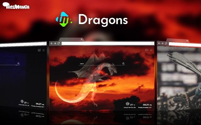 Dragon Wallpapers New Tab