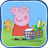 Peppa in the Supermarket APK for Bluestacks