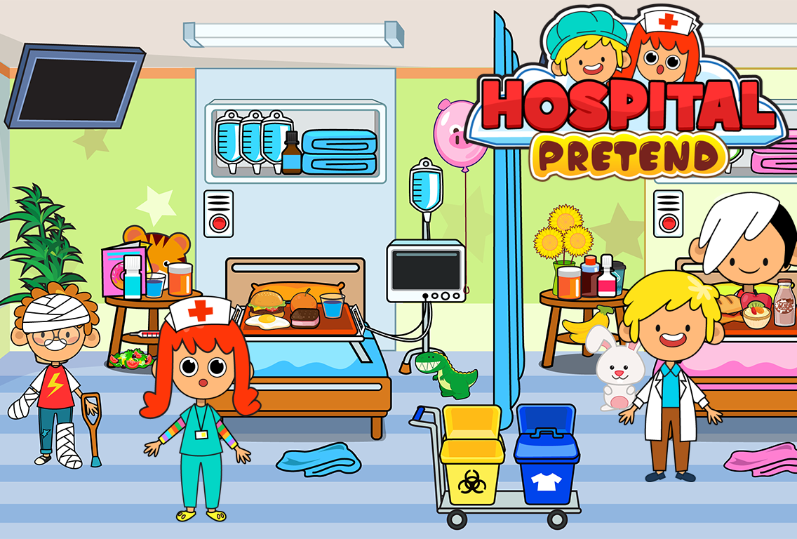 My Pretend Hospital - Kids Hospital Town Life FREE- screenshot