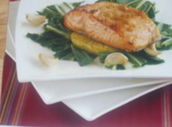 Mike 'u'  Honey Soy Baked Salmon With  Pineapple Recipe