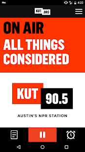 KUT 90.5 Austin's NPR Station- screenshot thumbnail