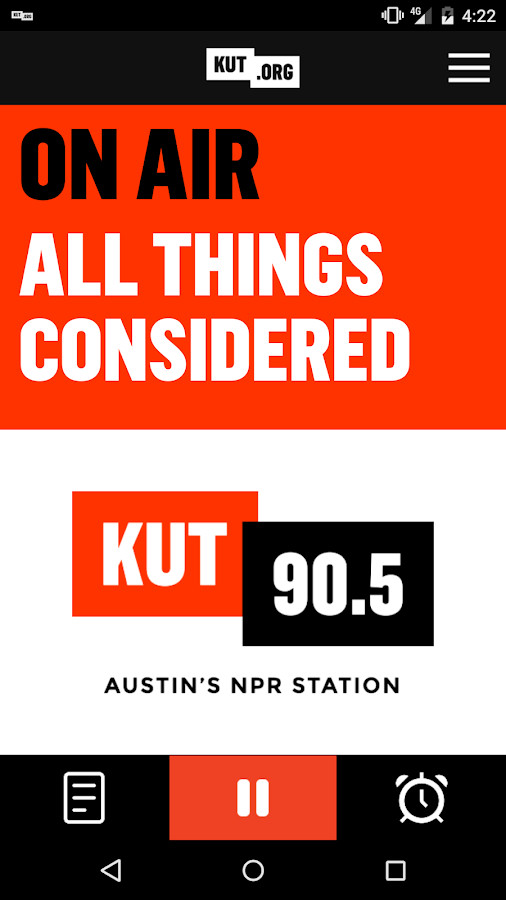 KUT 90.5 Austin's NPR Station- screenshot