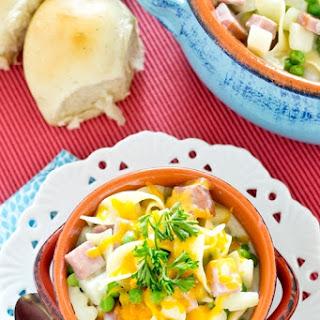 Ham & Pea Noodle Soup