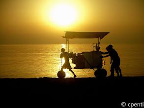 Photo: Tale (Albania) - Il carretto delle frittelle / Pancake cart