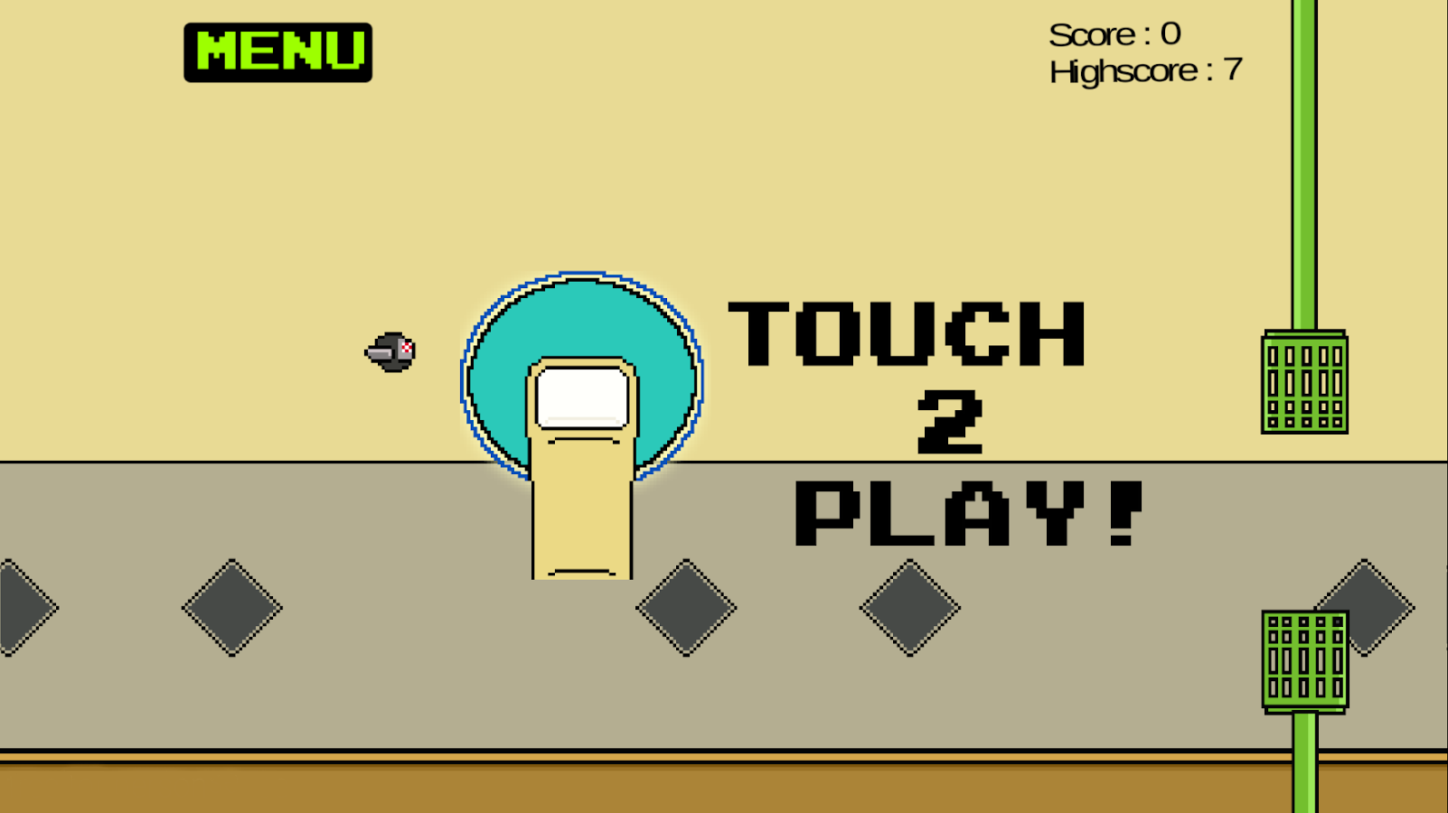 Flappy Fly- screenshot