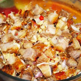 Spicy Pork Kilawin (Tagalog).