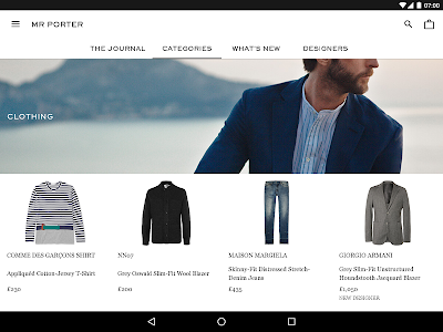 MR PORTER screenshot 6