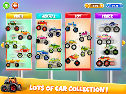 Kids Monster Truck Uphill Racing Game 0.5 Android APK Mod 3