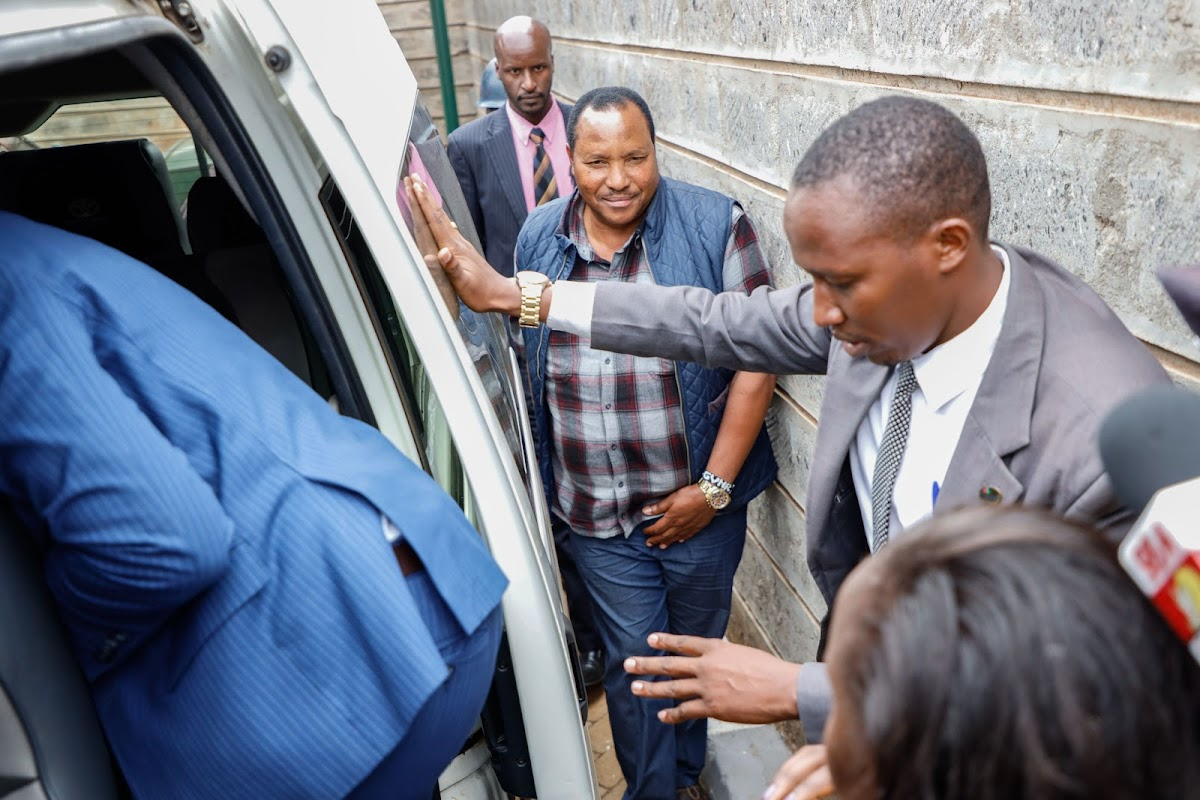 Image result for waititu runs away
