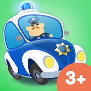 App Icon for Little Police Station App in Czech Republic Google Play Store