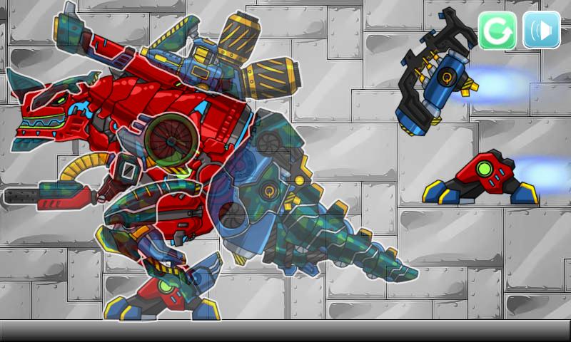 robot dino