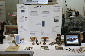 Photo: MCW information table (center).
