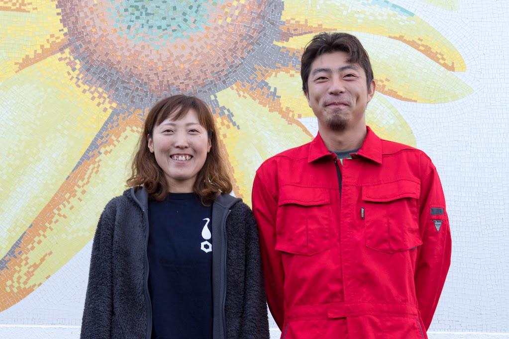 金田知樹さん(農事組合法人ほのか)、絵利紗さん(メロン栽培)ご夫妻
