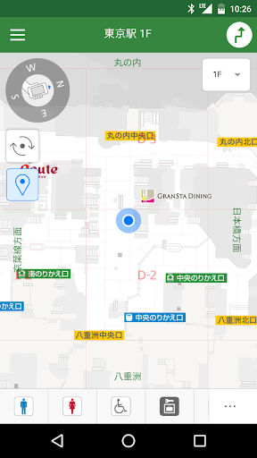 JR東日本 駅構内ナビ