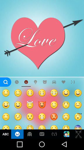 mod Pink Love Keyboard Theme  screenshots 2
