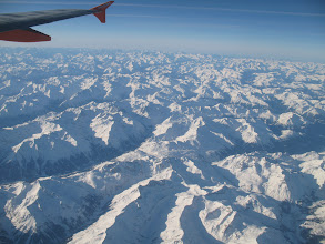 Photo: Above the Swiss Alps