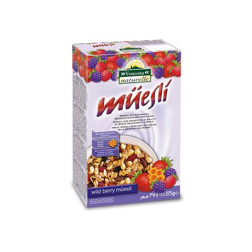 cereal muesli wild berry 375gr